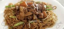 Cantonese style beef brisket (柱侯蘿蔔炆牛腩)
