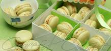 Green tea French macaron recipe