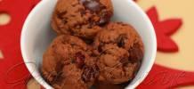 Gingerbread chocolate chunk cookies