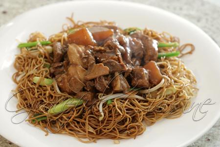 Cantonese style beef brisket