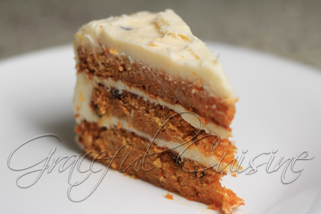 3 layer carrot cake