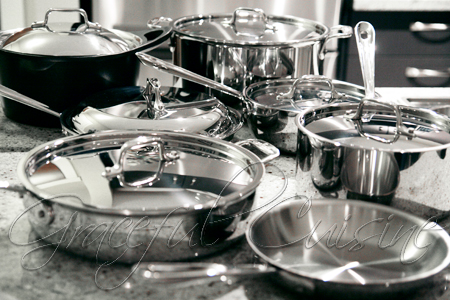 all clad stainless steel pans