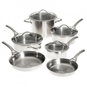calphalon contemporary 10 piece