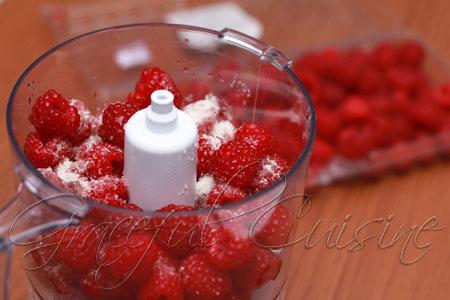 fresh raspberry flavor
