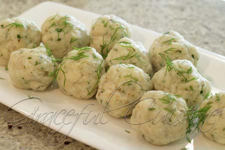 Matzo balls done