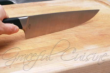 Calphalon German style blade chef's knife