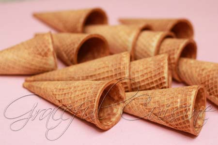 Ice cream sugar cones
