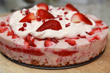 Dairy Free Strawberry Ice Cream Cake Recipe Graceful Cuisine