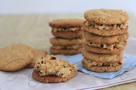 Peanut free peanut butter chocolate chip cookies