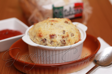 bacon cheeseburger souffle recipe