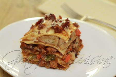 Thanksgiving turkey dinner lasagna_54 copy