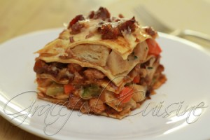 Thanksgiving turkey dinner lasagna_56 copy