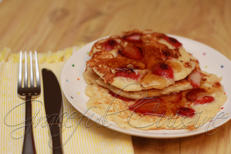 best strawberry pancakes recipe